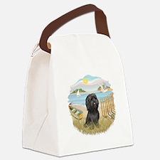 RowBoat-BlackShih Tzu.png Canvas Lunch Bag