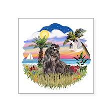 "Palms-ShihTzu24.png Square Sticker 3"" x 3"""