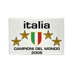 Italia Campioni Scudo Rectangle Magnet