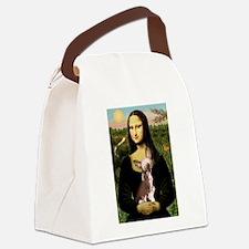 Cute Chihuahua box Canvas Lunch Bag