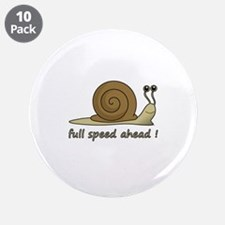 "Full speed ahead 3.5"" Button (10 pack)"