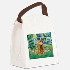 Bridge / Cocker (#7) Canvas Lunch Bag