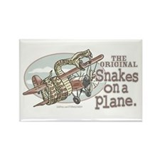 Original Snakes on a Plane Rectangle Magnet
