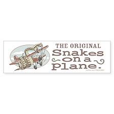Original Snakes on a Plane Bumper Bumper Sticker