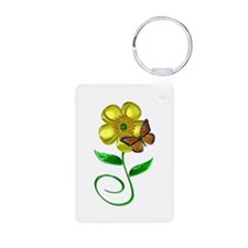 Monarch and Buttercup Keychains