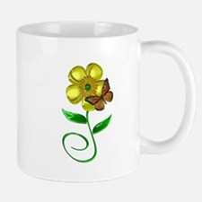 Monarch and Buttercup Mug