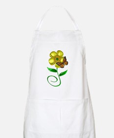 Monarch and Buttercup Apron