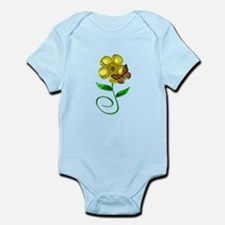 Monarch and Buttercup Infant Bodysuit