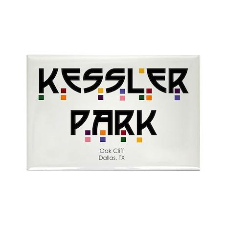 Kessler Park Rectangle Magnet