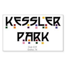 Kessler Park Rectangle Decal