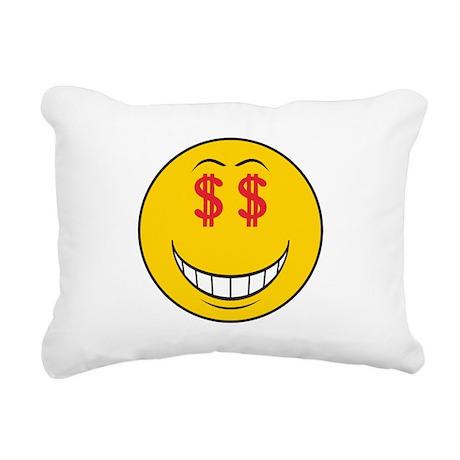 smiley160.png Rectangular Canvas Pillow