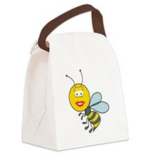 smiley218.png Canvas Lunch Bag