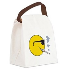 smiley224.png Canvas Lunch Bag