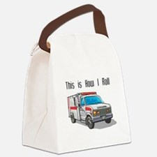 ambulence copy.png Canvas Lunch Bag