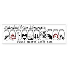 Naturalized Citizen Jars Bumper Sticker