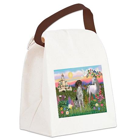 Castle / Ger SH Pointer Canvas Lunch Bag