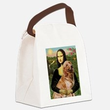 8x10-Mona-Gold-Banj.png Canvas Lunch Bag