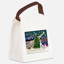 Xmas Magic Great Dane (H) Canvas Lunch Bag