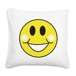 smiley-face.png Square Canvas Pillow