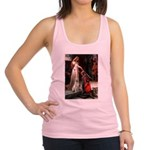 Accolade/Yellow Lab Racerback Tank Top