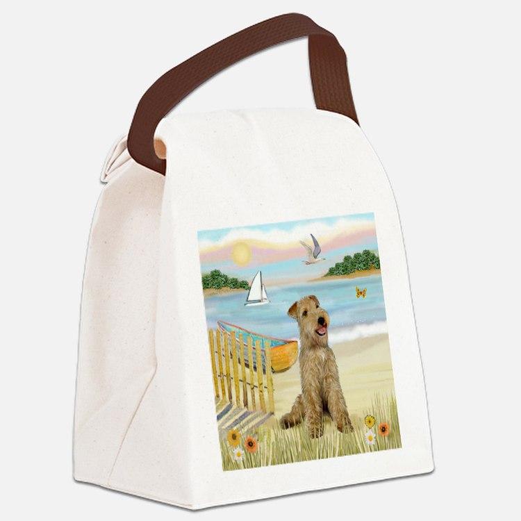 Rowboat & Lakeland T. Canvas Lunch Bag