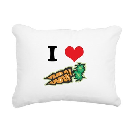 carrots.jpg Rectangular Canvas Pillow