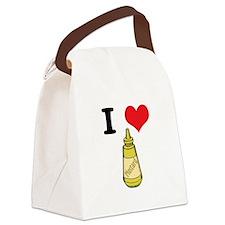 mustard.jpg Canvas Lunch Bag