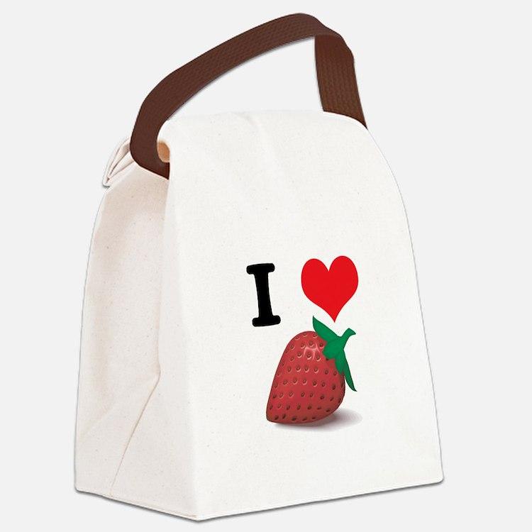 strawberries.jpg Canvas Lunch Bag