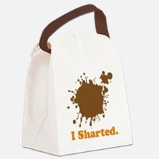 i sharted.png Canvas Lunch Bag