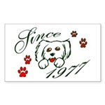 St Francis #2/ Airedale Sticky Notepad