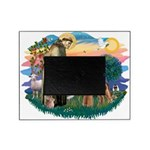 St Francis #2/ Airedale Picture Frame