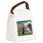 SAINT FRANCIS Canvas Lunch Bag