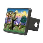 St Francis/Aussie (#5) Rectangular Hitch Cover
