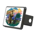 St Francis #2/ B Shepherd Rectangular Hitch Cover