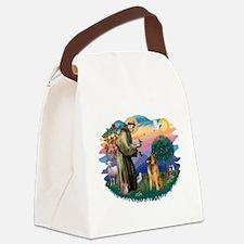 St Francis #2/ B Tervuren Canvas Lunch Bag