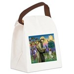 St. Fran. / Brittany Canvas Lunch Bag