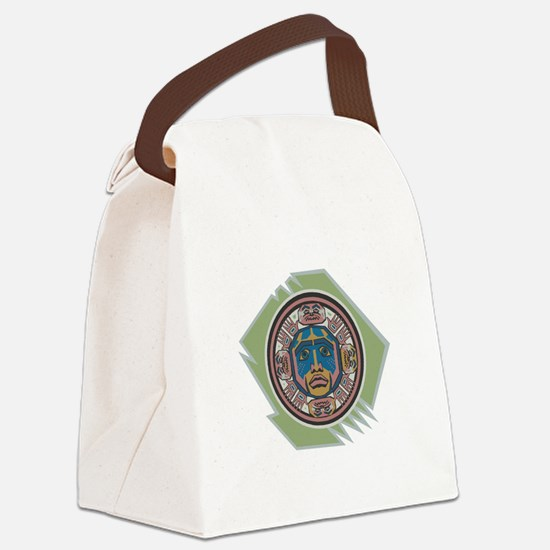 indian spirit spymbol copy.jpg Canvas Lunch Bag