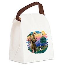 St.Fran #2/ Cavalier (tri) Canvas Lunch Bag