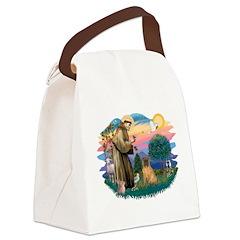 St.Francis #2/ Shar Pei (#3) Canvas Lunch Bag