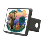 St Francis #2/ Chow (R) Rectangular Hitch Cover