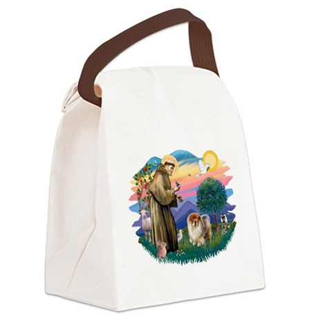 St Francis #2/ Chow (B) Canvas Lunch Bag