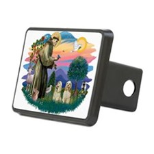 St.Francis #2/ Cockers (2buff Hitch Cover