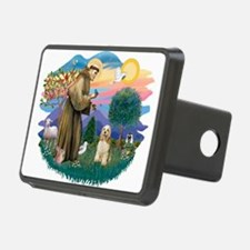 St.Francis #2/ Cocker (buff # Hitch Cover