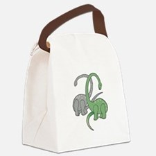 two dinosaurs copy.jpg Canvas Lunch Bag