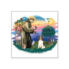 St.Francis #2/ Eng Springer ( Square Sticker 3&quo