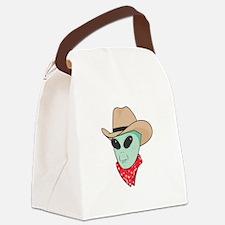 cowboy alien copy.jpg Canvas Lunch Bag