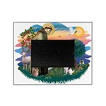 St.Francis #2/ Fox Terrier Picture Frame