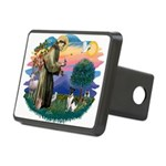 St.Francis #2/ Fox Terrier Rectangular Hitch Cover