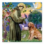 St Francis & Golden Square Car Magnet 3