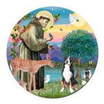 S, Fr, #2/ Greater Swiss MD Round Car Magnet